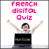French Digital Quiz for Google Classroom - Areas Inside an