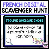 French Digital Scavenger Hunt