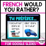 French Digital Would You Rather?