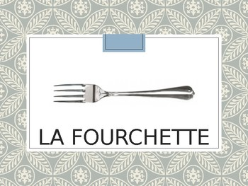 French Dinner Table Powerpoint