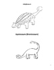French Dinosaur Vocabulary Dictionary