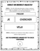 French Direct and Indirect Object Pronouns - 75 Practice Cards