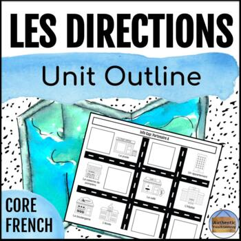 French Directions Unit Outline