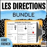 Les directions - French Directions Unit and Escape Room Bundle