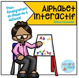 French Distance Learning Alphabet Tracing / Alphabet inter