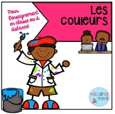 French Distance Learning Colors activities / Les couleurs