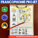 Pays Francophones - FRANCOPHONIE (French Speaking Countrie