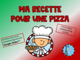 French Distance Learning Pizza Reading Writing Activity fo