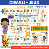 French Diwali- Diwali in French - Fete des lumieres (Game