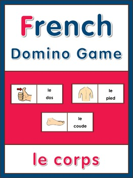 French Domino Game le corps
