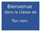 French Door Signs