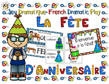 French Dramatic Play: Birthday Party