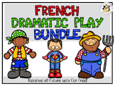 French Dramatic Play Bundle