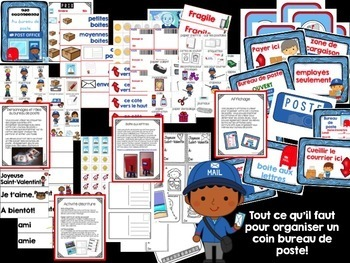 French Dramatic Play (BUNDLE)/ Ensemble économique {Jeu symbolique}