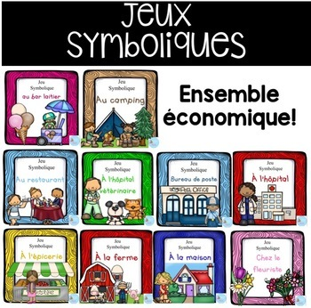 French Dramatic Play (BUNDLE)/ Ensemble économique {Jeu sy