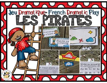 French Dramatic Play Pirates-Jeu Dramatique
