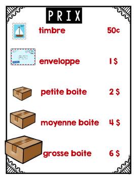 French Dramatic Play (Post Office)/ Au bureau de poste {Jeu symbolique}