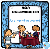 French Dramatic Play (Restaurant)/ Au restaurant {Jeu symbolique}