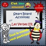 French: ER VERBS Smart board activities