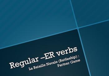 French -ER Verbs : Battleship-style Game