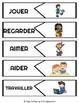 French ER Verb Practice Puzzles (Les Verbes en ER)