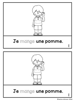 French ER Verb Reader & Build-A-Book ~ Ma sœur chante ~ Les verbes ER