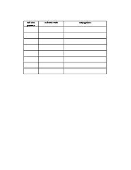 French ER verbs partner speaking activity