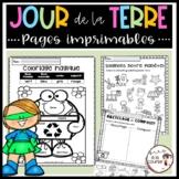 French Earth Day Printables/ Jour de la Terre - Activités imprimables