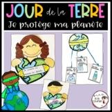 French Earth Day Craftivities / Jour de la Terre - Écriture et bricolages
