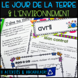 French Earth Day Package/Spring: Le jour de la terre, environnement & printemps