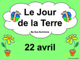 French Earth Day PowerPoint and Vocabulary Reference - 29 Slides