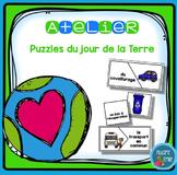 French Earth day Puzzles/ Casse-tête {Mots du jour de la Terre}