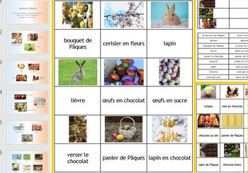 French Pâques Easter: 3 resources in one BUNDLE