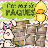 French Easter Activity - Pâques (Flip Book Craftivity/ARTivité)