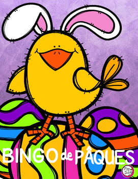 French Easter BINGO {Create Your Own Card}