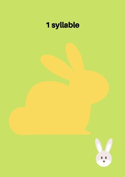 French Spring Bunny Song with vocab and syllable training