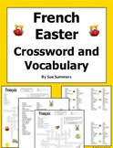 French Easter Crossword, Images IDs, and Vocabulary - Pâques