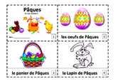 French Easter 2 Emergent Readers Booklets