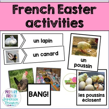 French - Easter Flashcards and Games - Les jeux de Paques