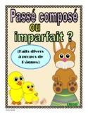 French Easter News Stories - passé composé or imparfait?