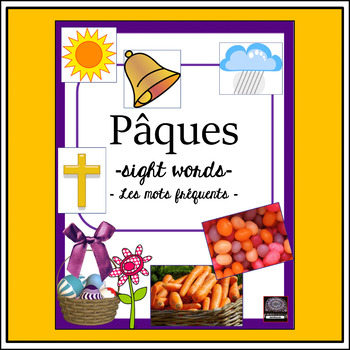 French – Easter – Pâques – les mots de Pâques