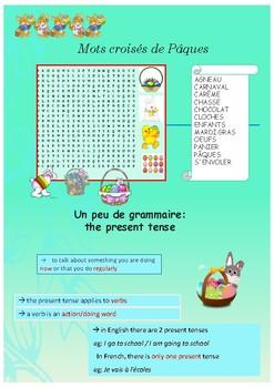 French Easter, Pâques et autres célébrations : printable worksheets