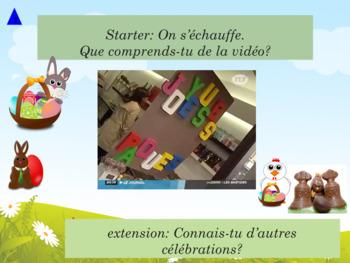 French Easter, Pâques et autres célébrations : activities games and printables