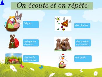 French Easter, Pâques et autres célébrations : interactive activities with PPT