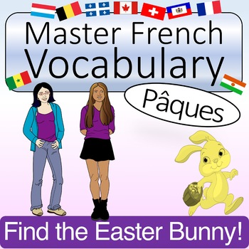 French Easter Vocabulary and Activities- Pâques (with Quizlet & KAHOOT!)