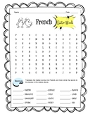 French Easter Word Search