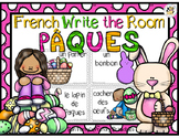 French Easter Write the Room- Pâques