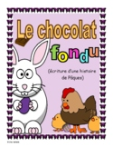 French - Easter Writing Activity (Write a Story)