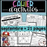 French Easy Back to School Activities/ Activités pour la r