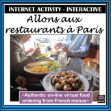 French Distance Learning Friendly - Food/Eating in France